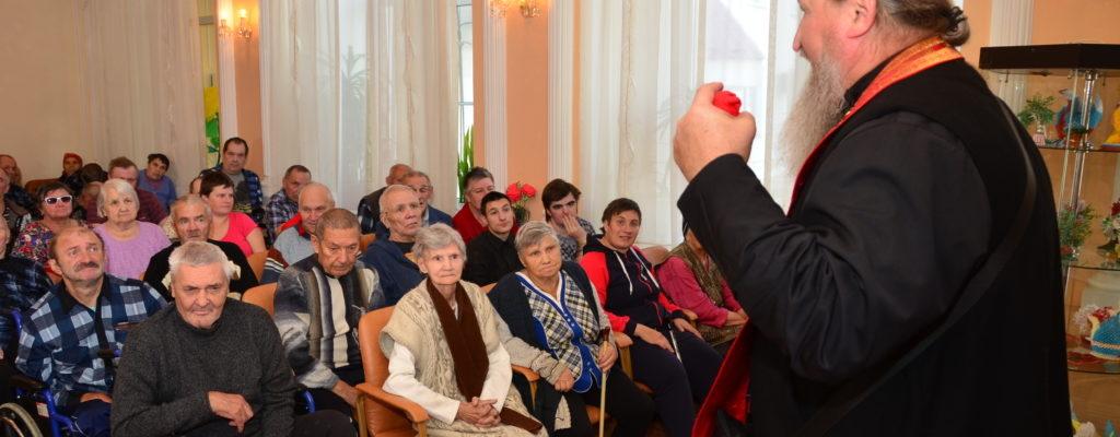 Документальный спектакль «Непобедима пребывает» в пансионате «Ногинский»